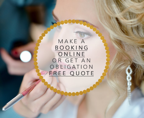 make a booking ONLINE or get an obligation free quote